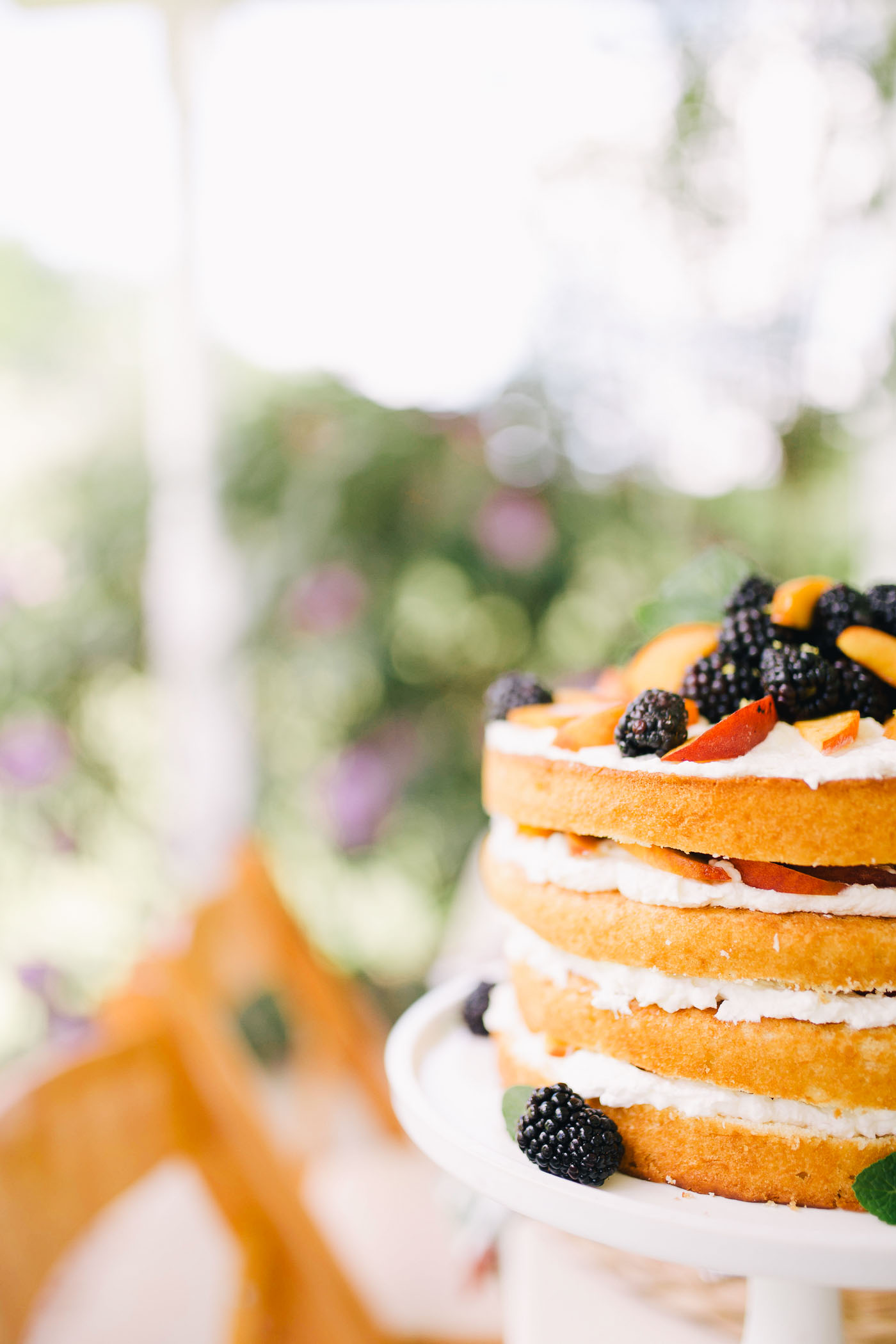 A blackberry peach shortcake recipe by Lauren Cermak of the Southern Lifestyle Blog, Going For Grace.