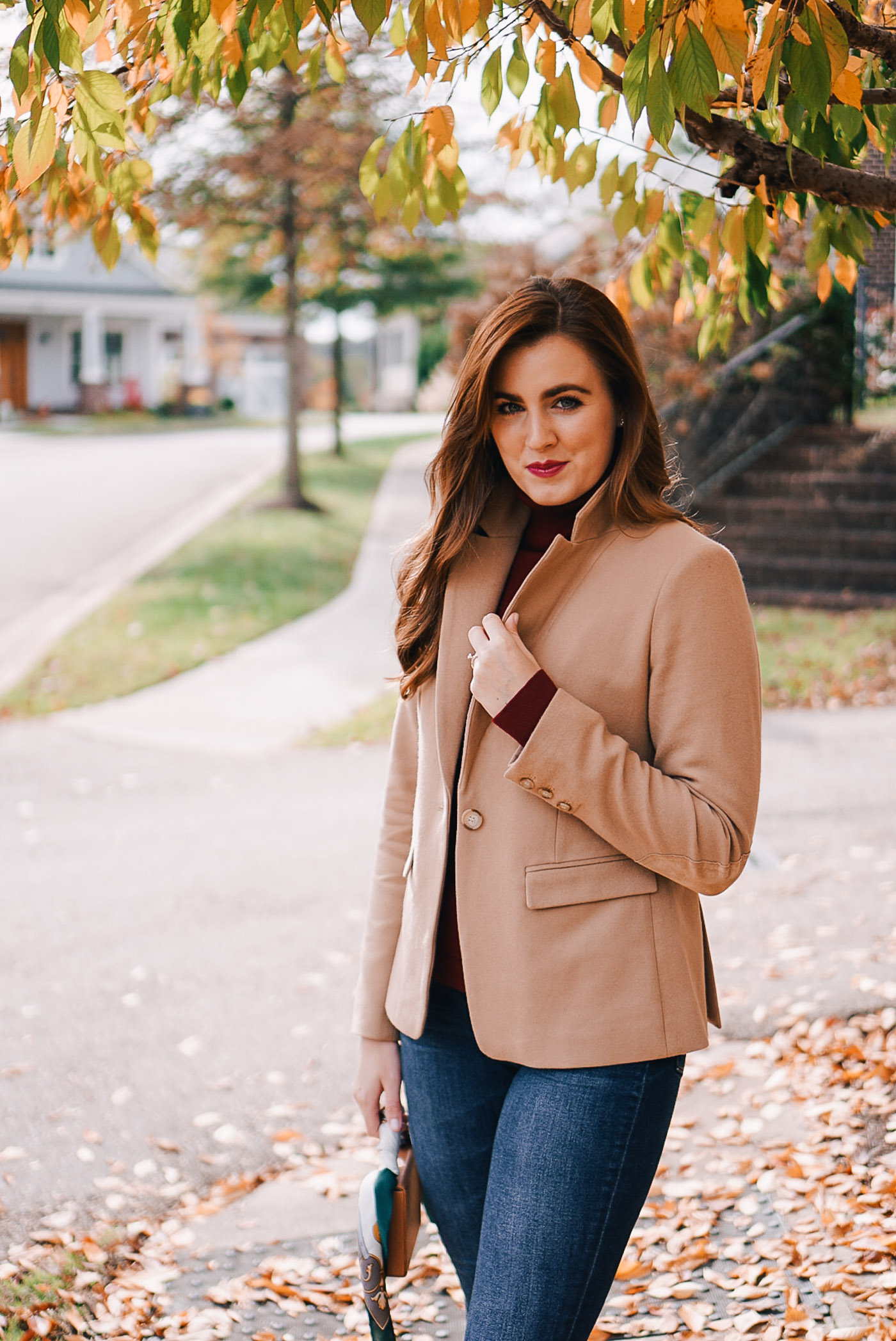 A roundup of seven of Fall's best women's blazers under $150 by Lauren Cermak of the Southern Lifestyle Blog, Going For Grace.