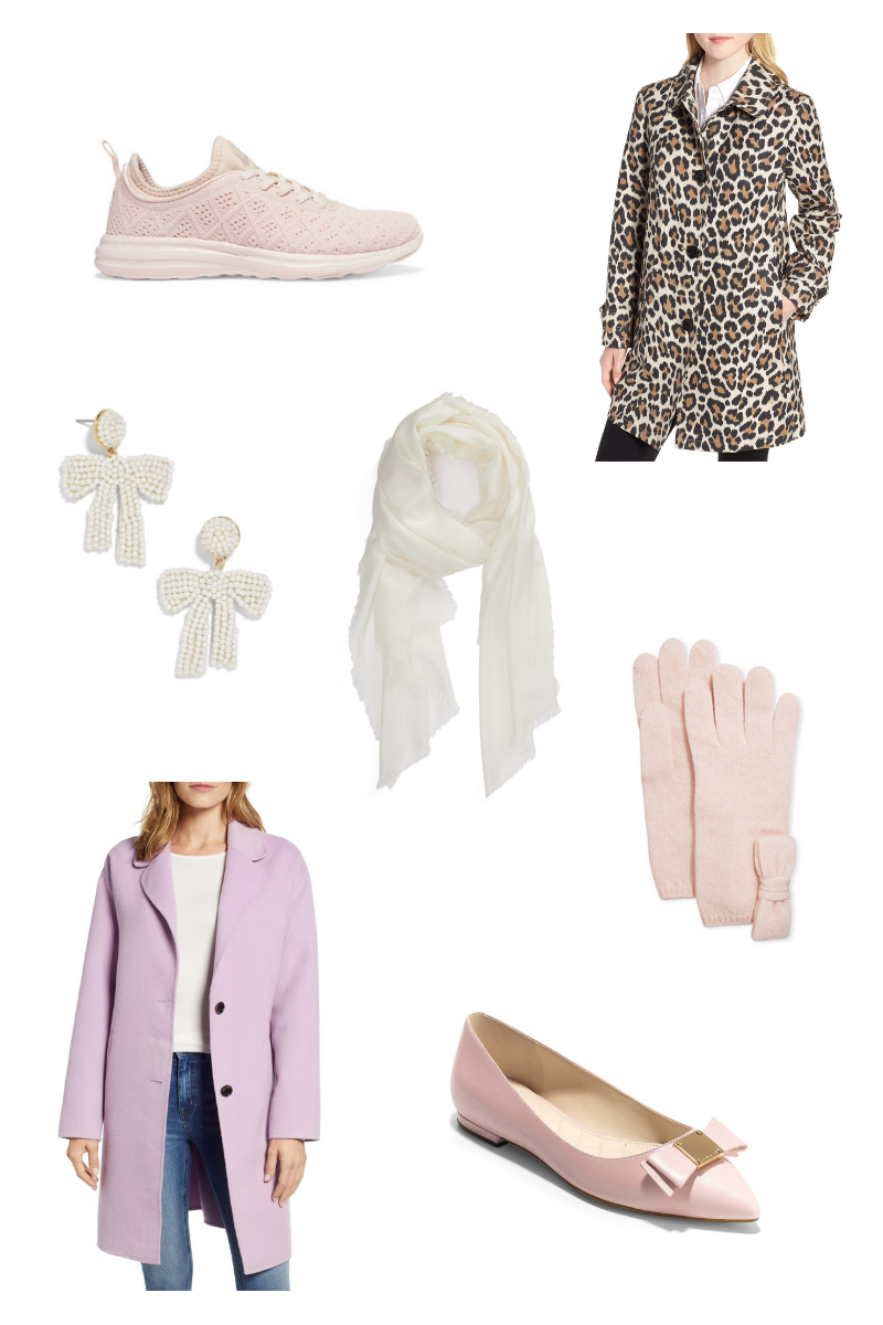 A roundup of ten January must haves - from winter whites to detailed flats - by Lauren Cermak of the Southern lifestyle blog Going For Grace.