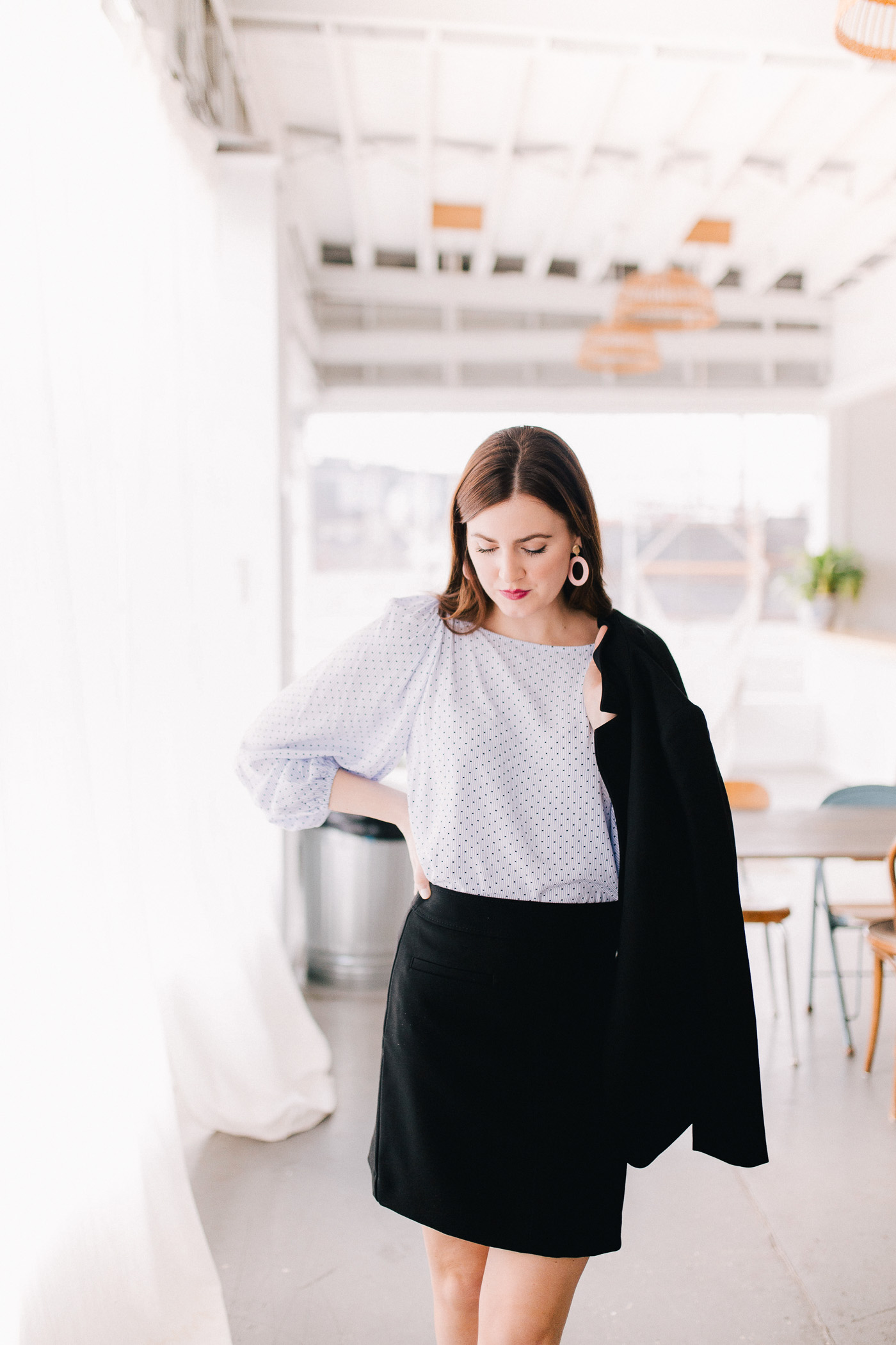 A roundup of ten LOFT workwear essentials to help you create your own unique work style by Lauren Cermak of the Southern lifestyle blog, Going For Grace.