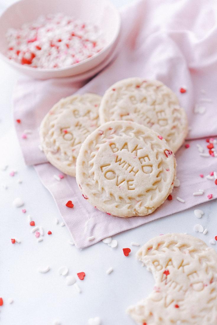 Easy Sprinkle Sugar Cookies
