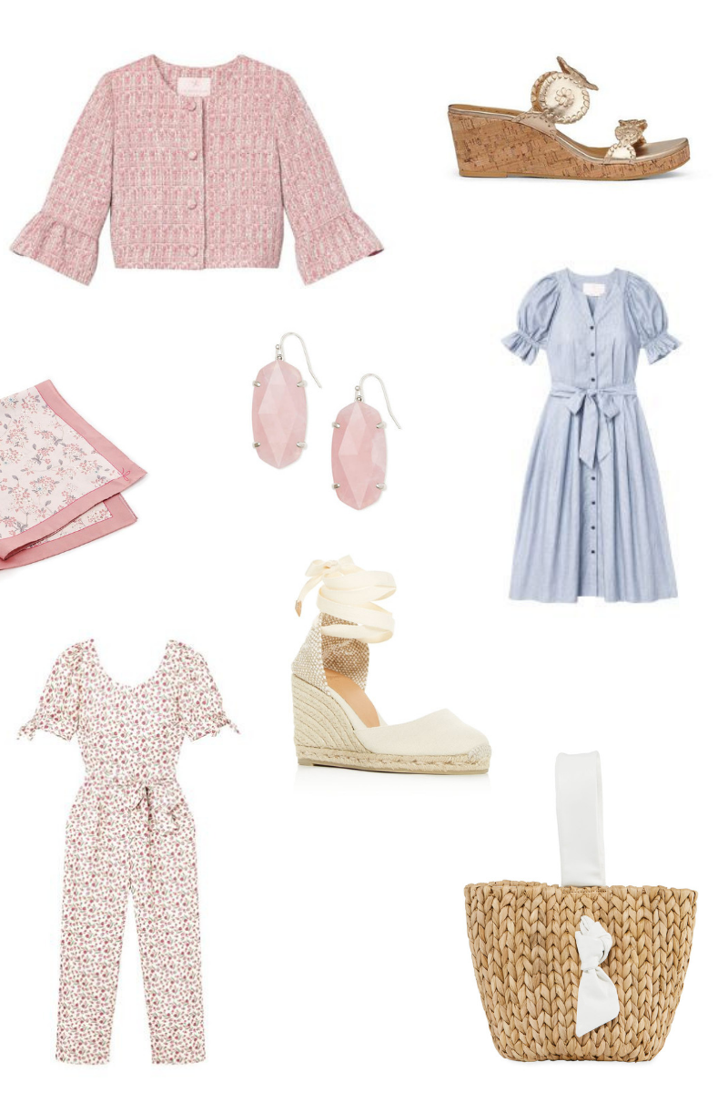 A roundup of women's spring fashion pieces