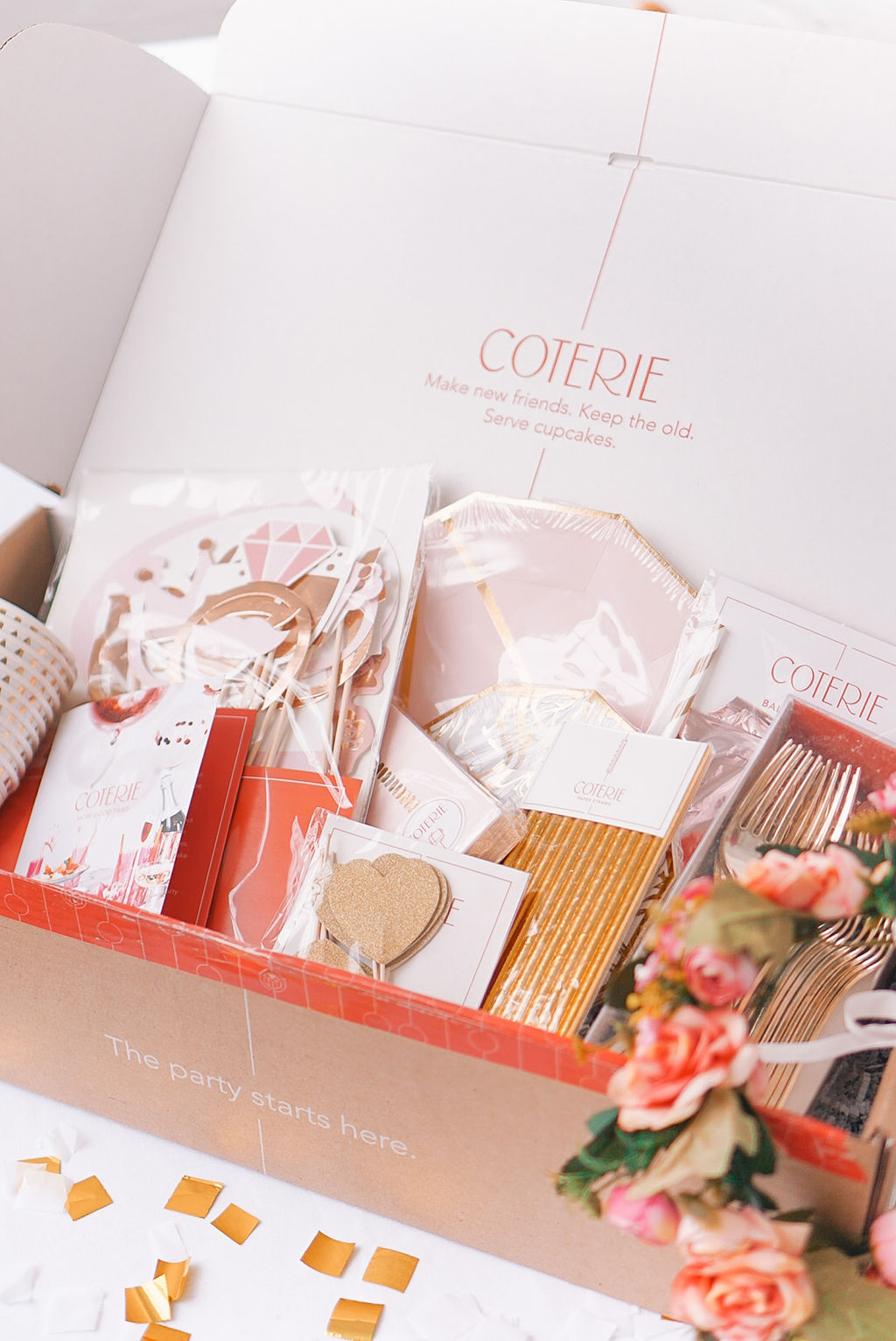 bridal-shower-party-ideas-coterie-party-pink-gold-foil-party-set