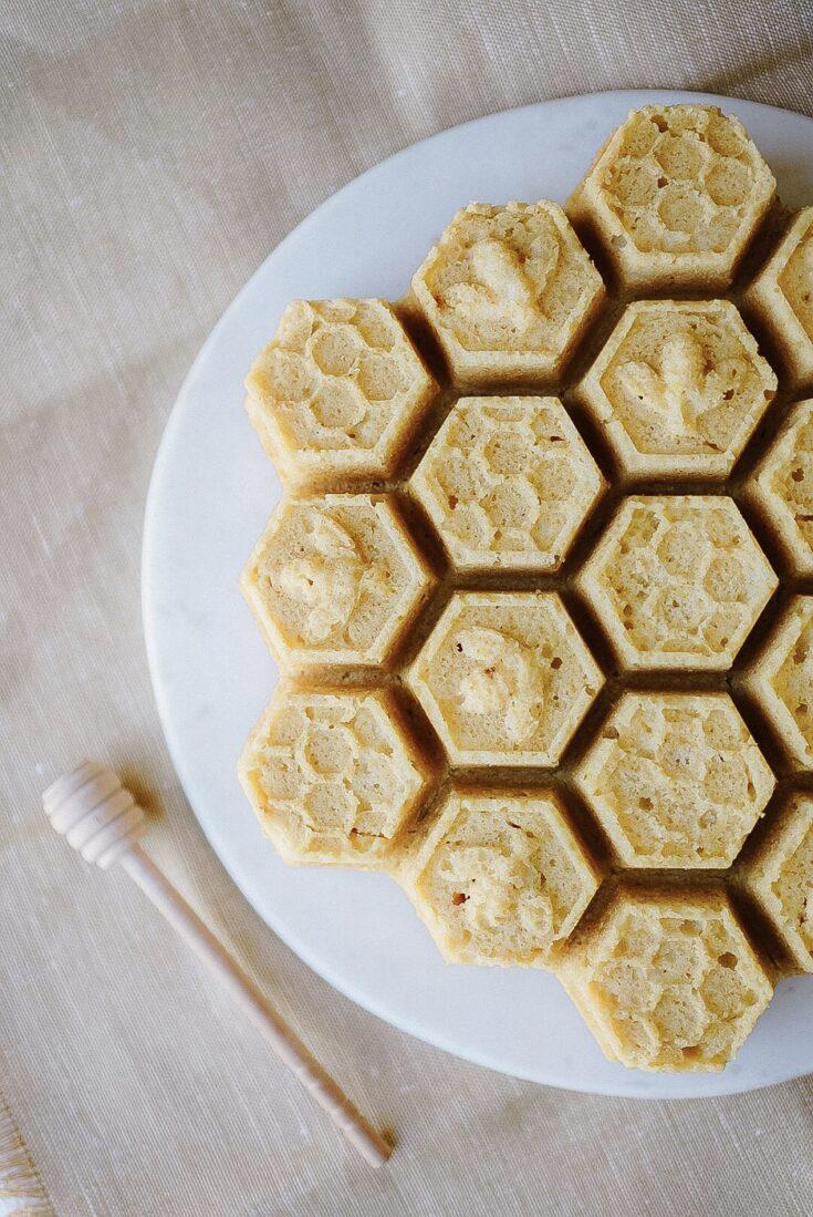 Honey Lemon Loaf Cake